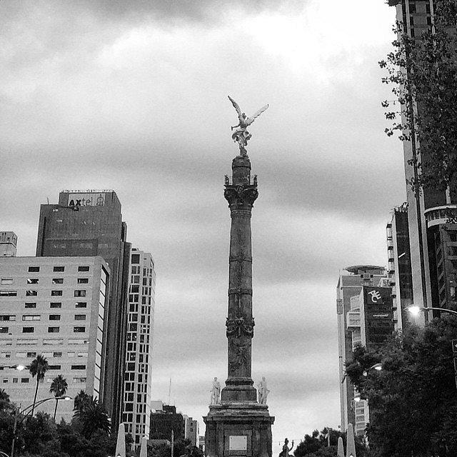 Mexico city. #Mx #BN #DF #México #Angel  #LetsExplore
