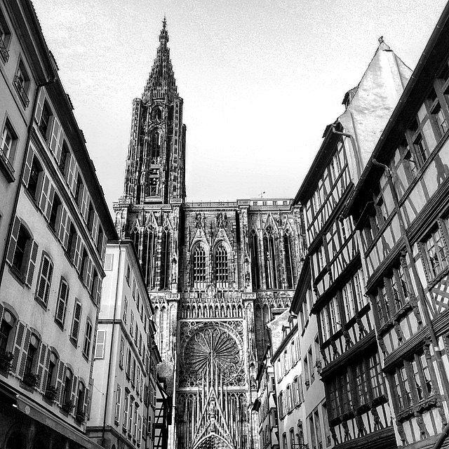 A little and beauty town.  #Europe #Paris #RoadTrip #Trip #Photographers #LU #HoneyMoon #Strasbourg #France #Germany