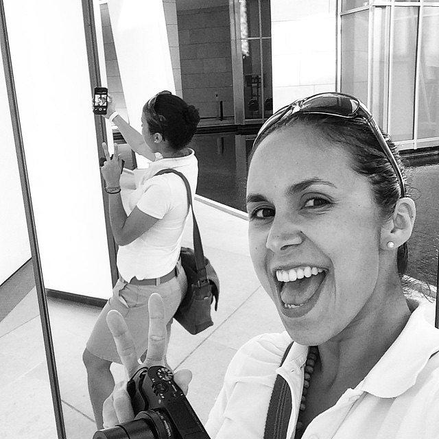 SelfING!! #Paris #LV #LouisViitton #Foundation #Selfie #BN